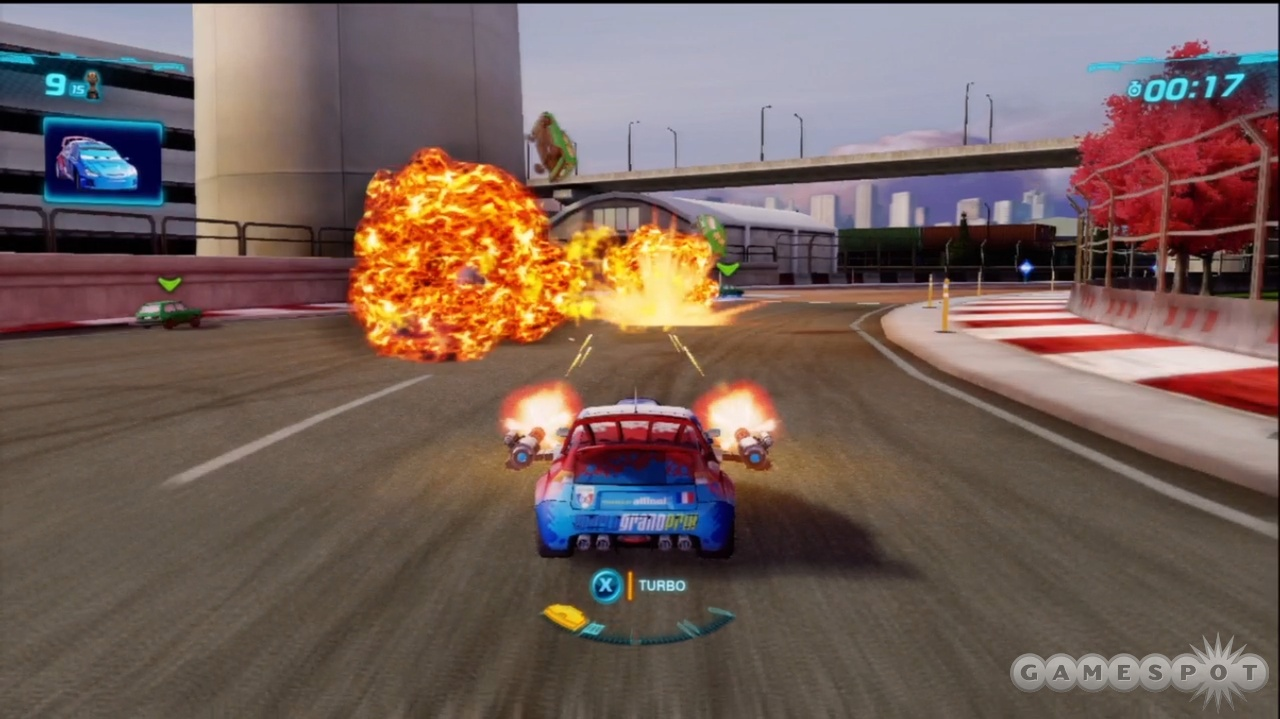 Explosions like these are commonplace in all of the modes that feature weapons.