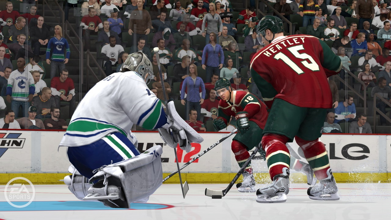 Rosters have been updated with players shifted to their new homes, like Dany Heatley in Minnesota. Still no new Winnipeg Jets uniforms, though.