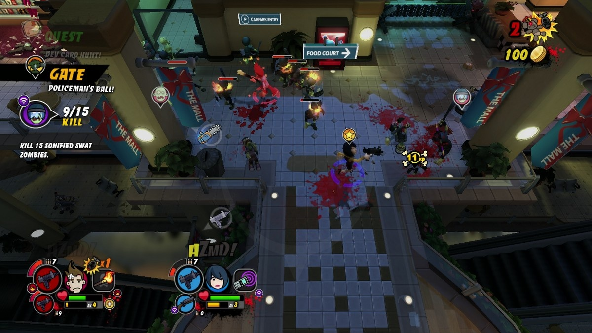 The game is best played in four-player co-op.