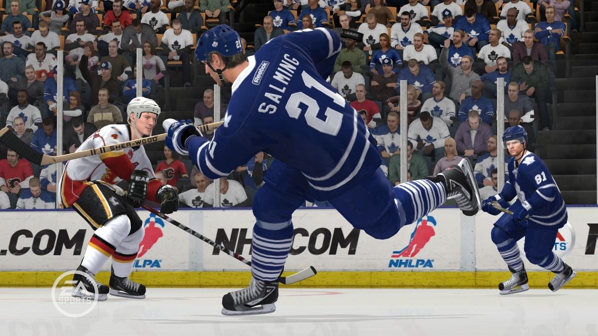 Swedish defenseman Borje Salming is the Toronto Maple Leafs' representative in the Be a Legend crew.