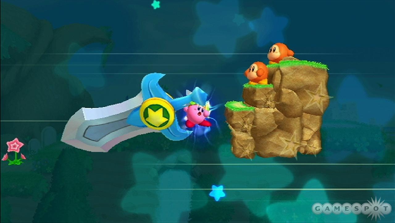 Small Kirby + big sword = epic win.