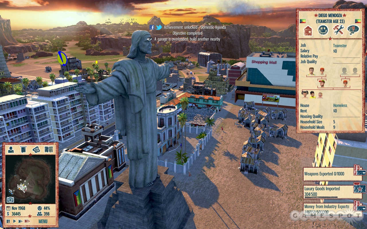 No island dictatorship would be complete without a great big statue of Jesus.