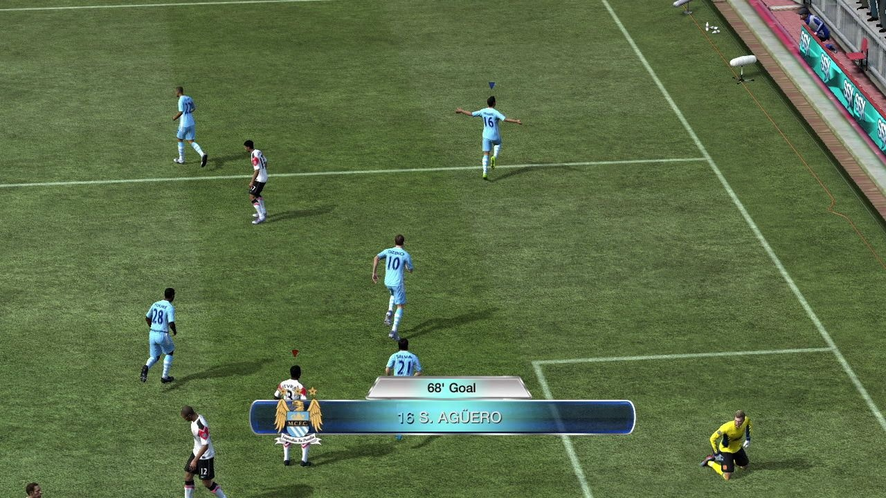 Sending one to the back of the net is as satisfying as ever.