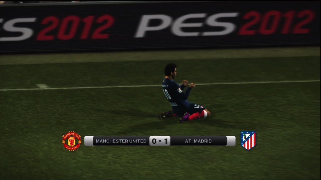 There are plenty of classic goal celebrations in PES 12.