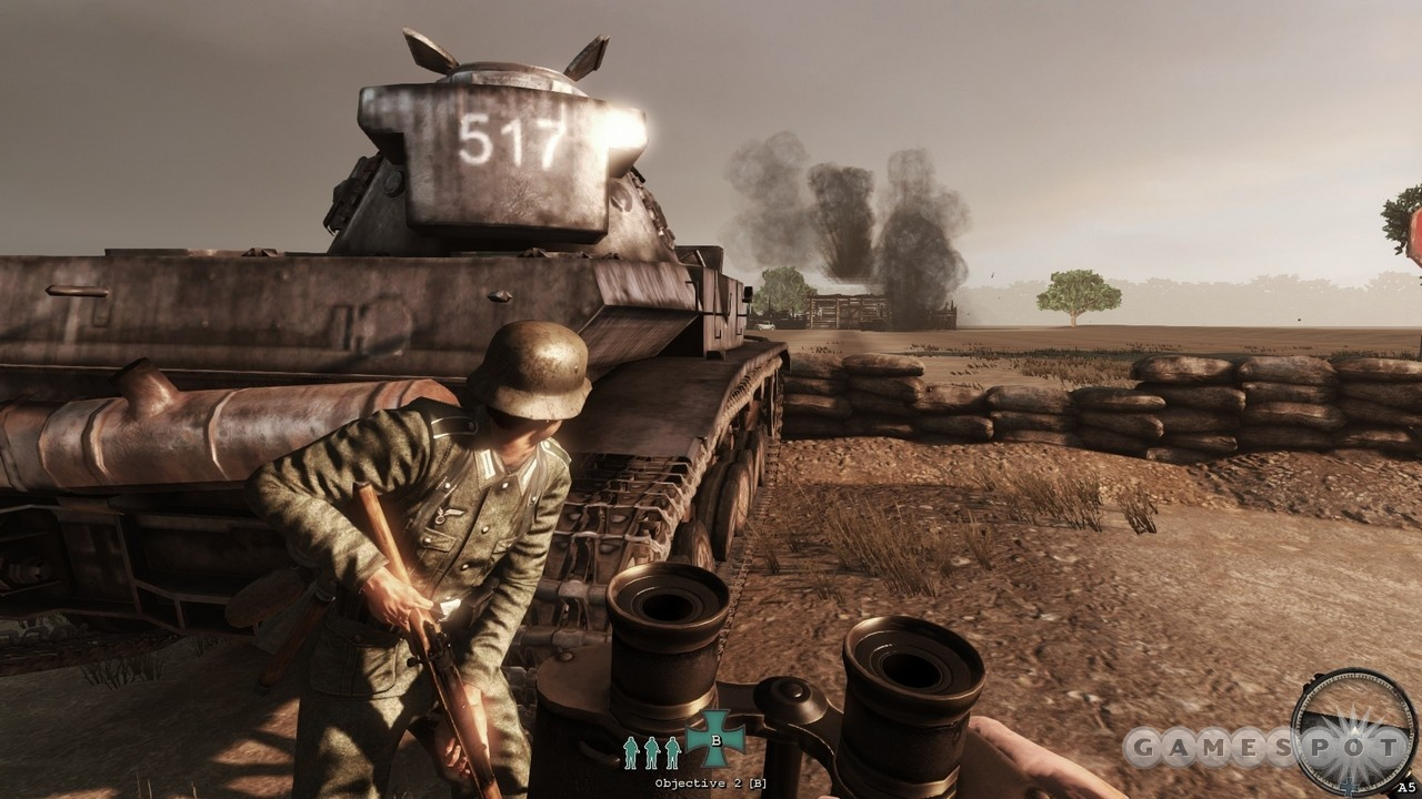 Authentic gritty combat and atmospheric maps of war-torn Stalingrad are the two main attractions of Red Orchestra 2.