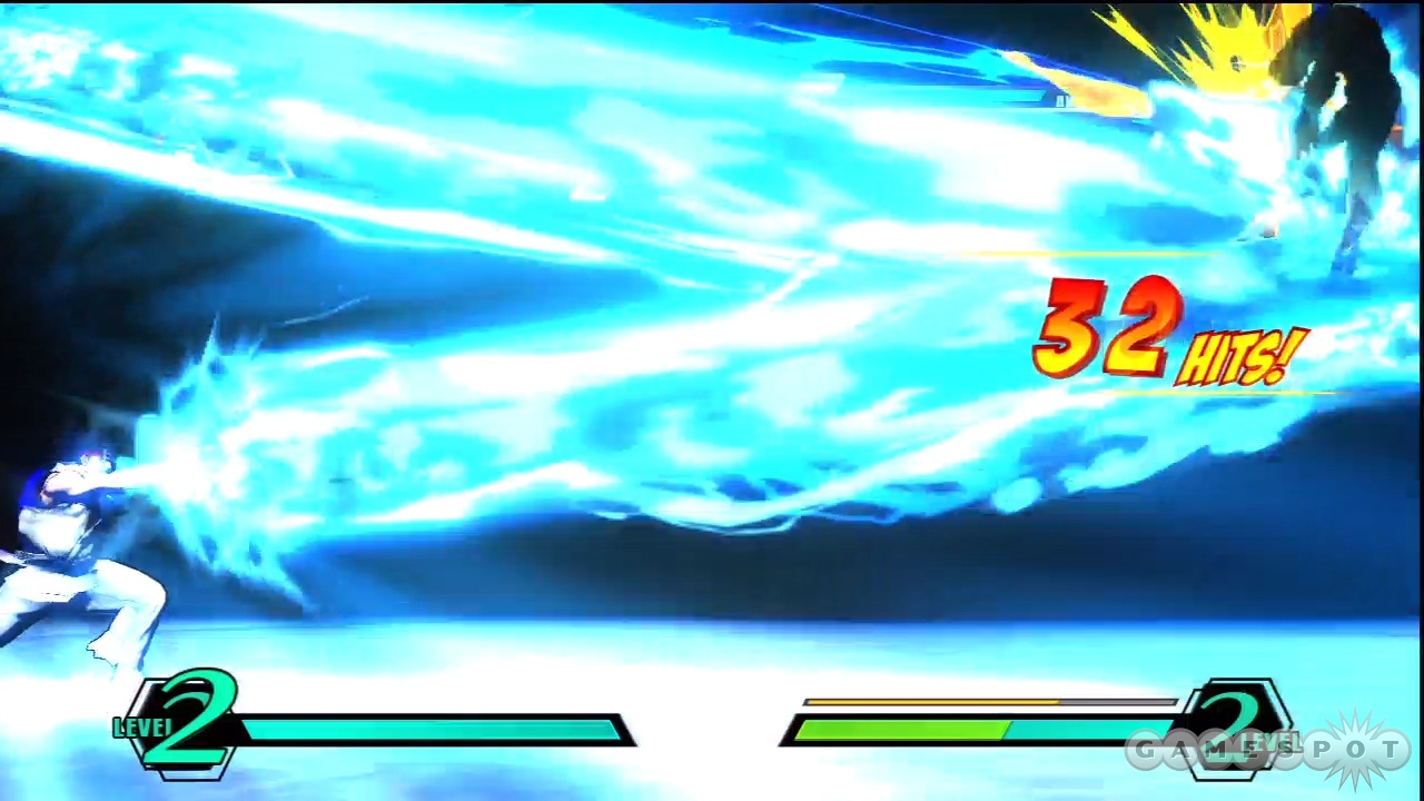 You can mash buttons while performing certain hyper combos to increase their damage.