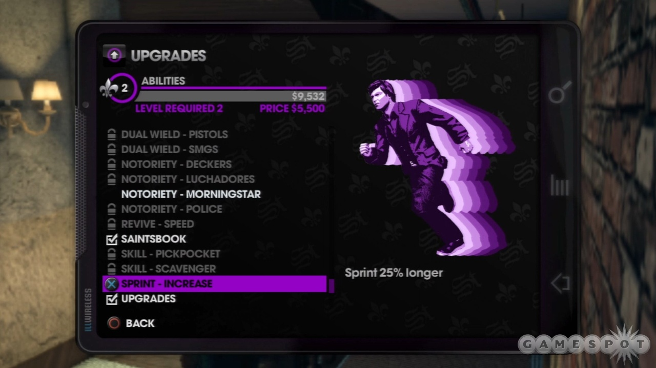 As you level up, you constantly gain access to cool new abilities and enhancements.