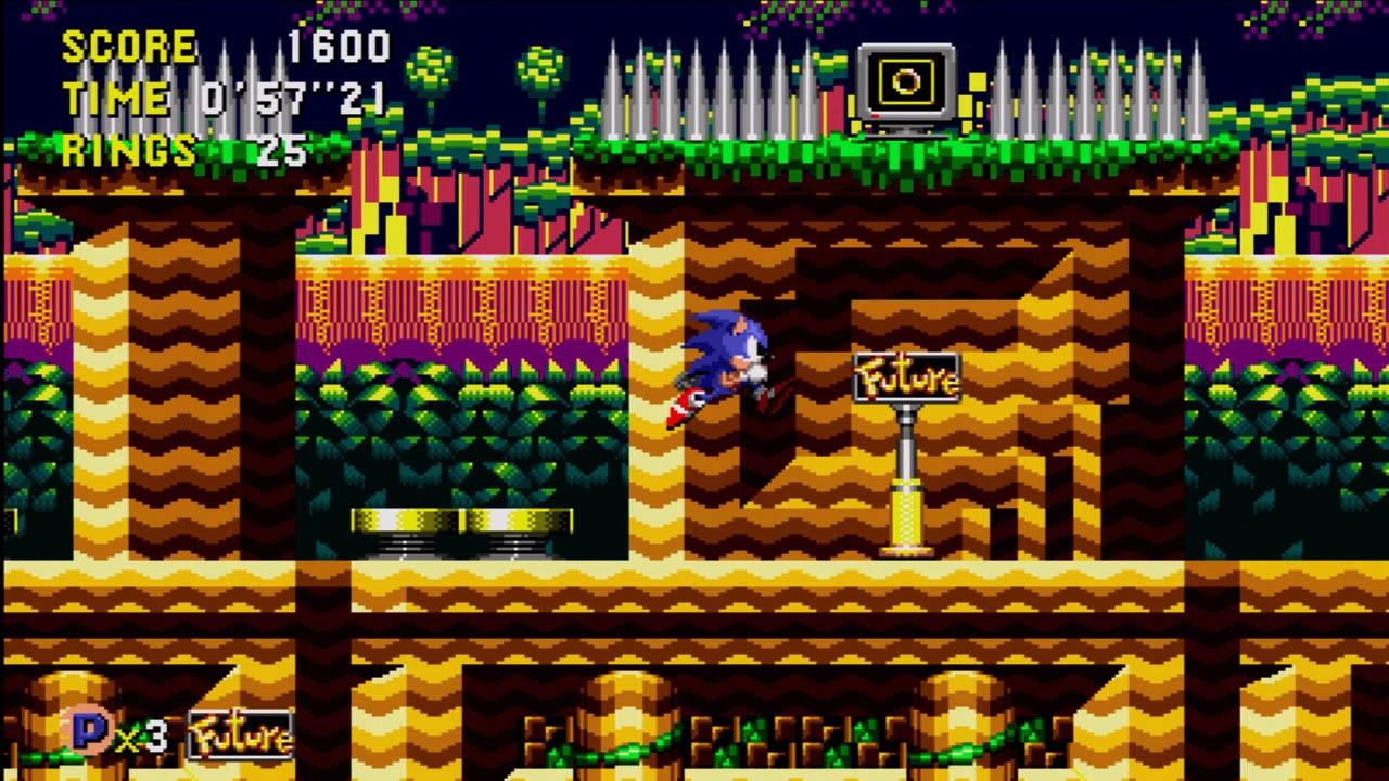 If Sonic knew what the future held for him he might not be so eager to get there.