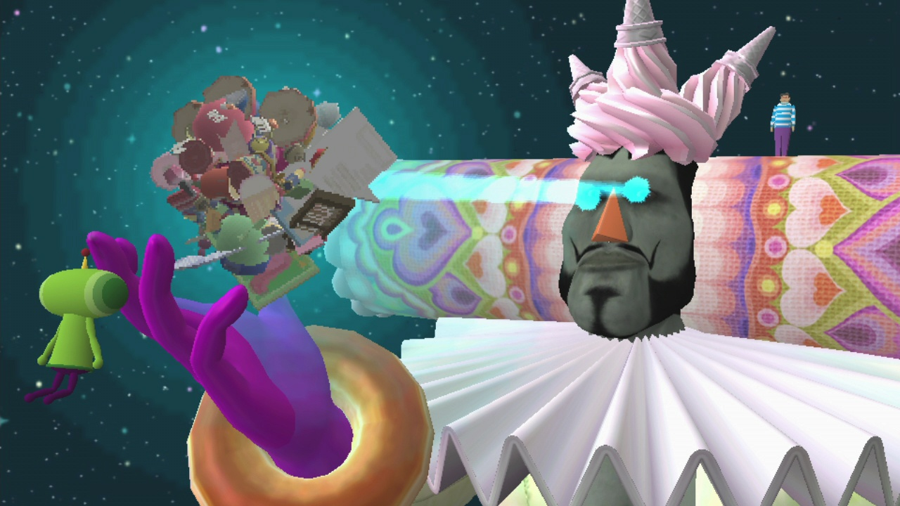 Your katamari has been weighed on the scale and found wanting.