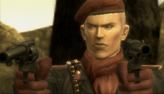 A youthful Ocelot makes his debut, sans wispy mustache.