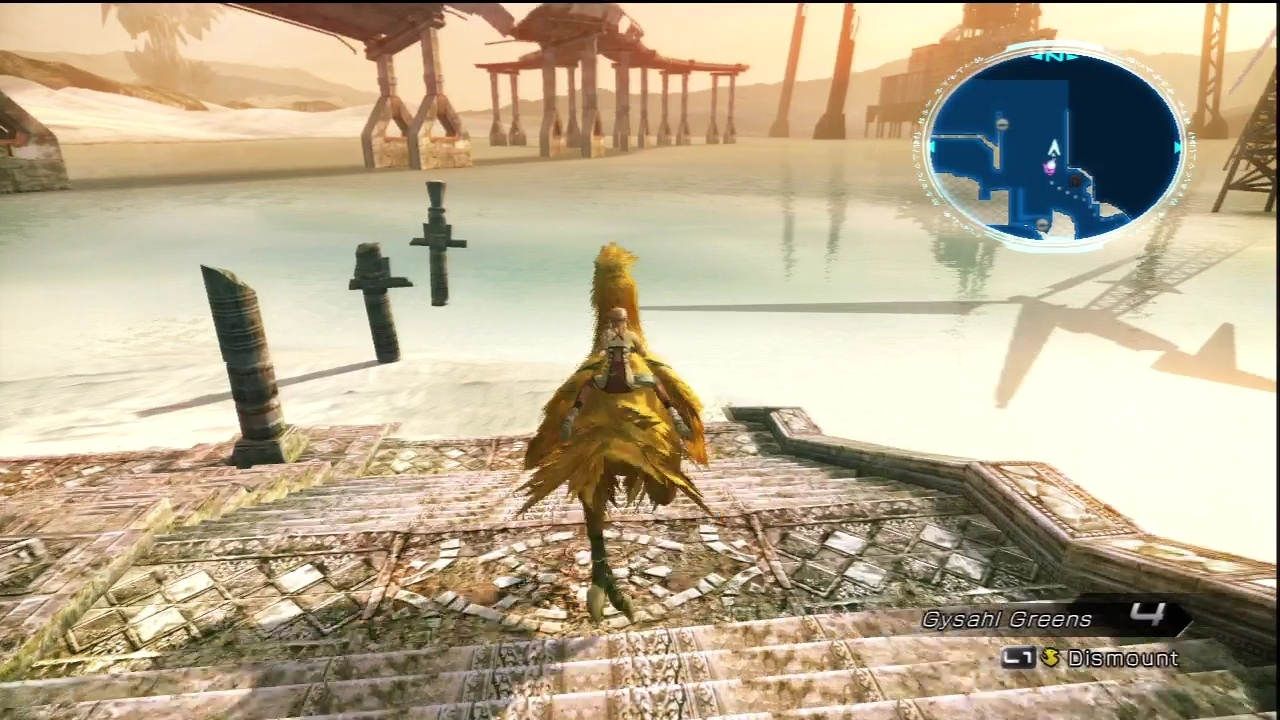 Chocobos are good for riding--not for eating.