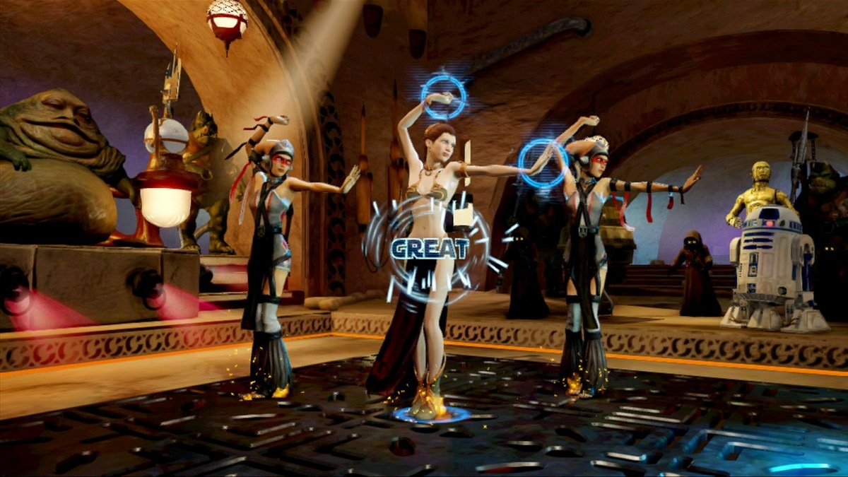 Who loves a bit of Dance Central in a galaxy far, far away? Kinect Star Wars has got you covered.