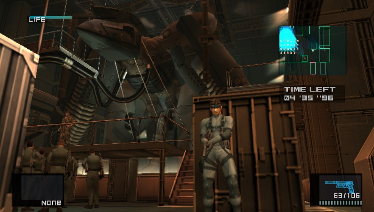 Every time a security bell rings, a Metal Gear gets its wings.