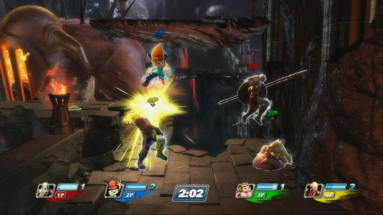 Environments are drawn from across a wide range of games too.