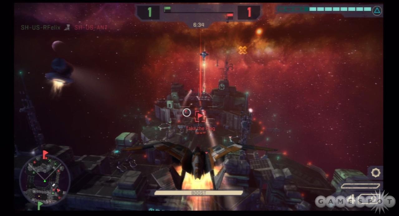 Bombing runs can decimate enemy defenses.
