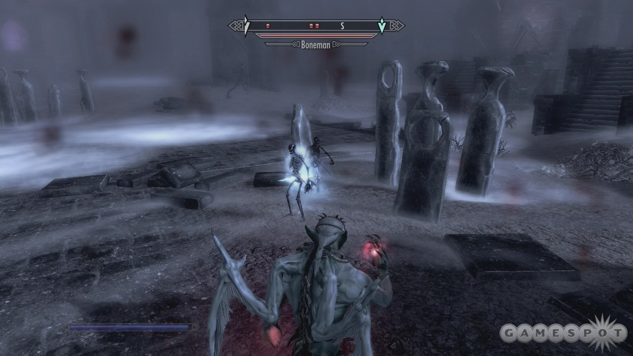 The Soul Cairn is a region fit for a lord.