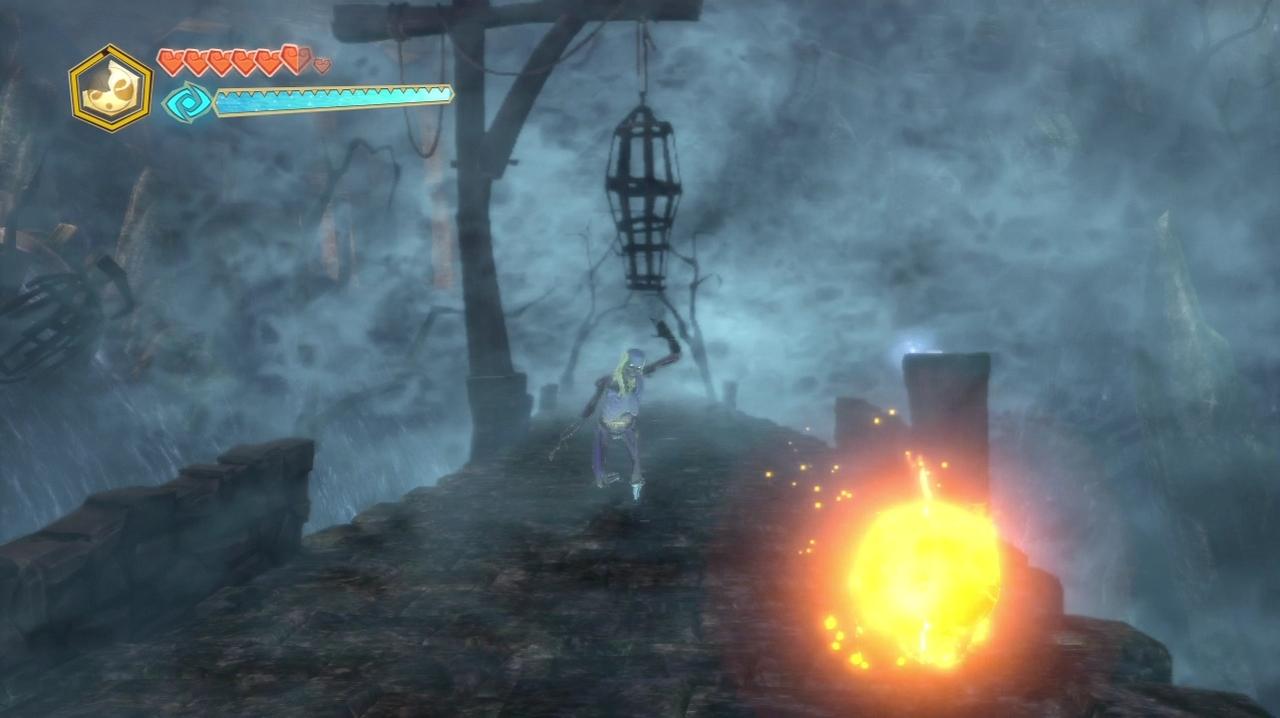 Not even a kamikaze hollow man can survive against a fireball.