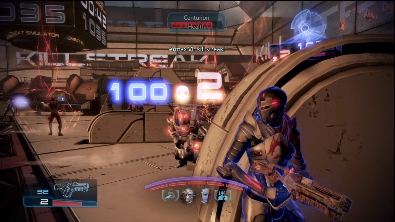 The Armax Arena lets you fight alongside many of your old allies again.
