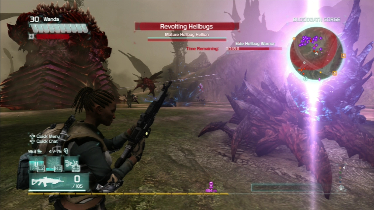 Pro tip: kill the hellbug archers first. They're squishy, but lethal.
