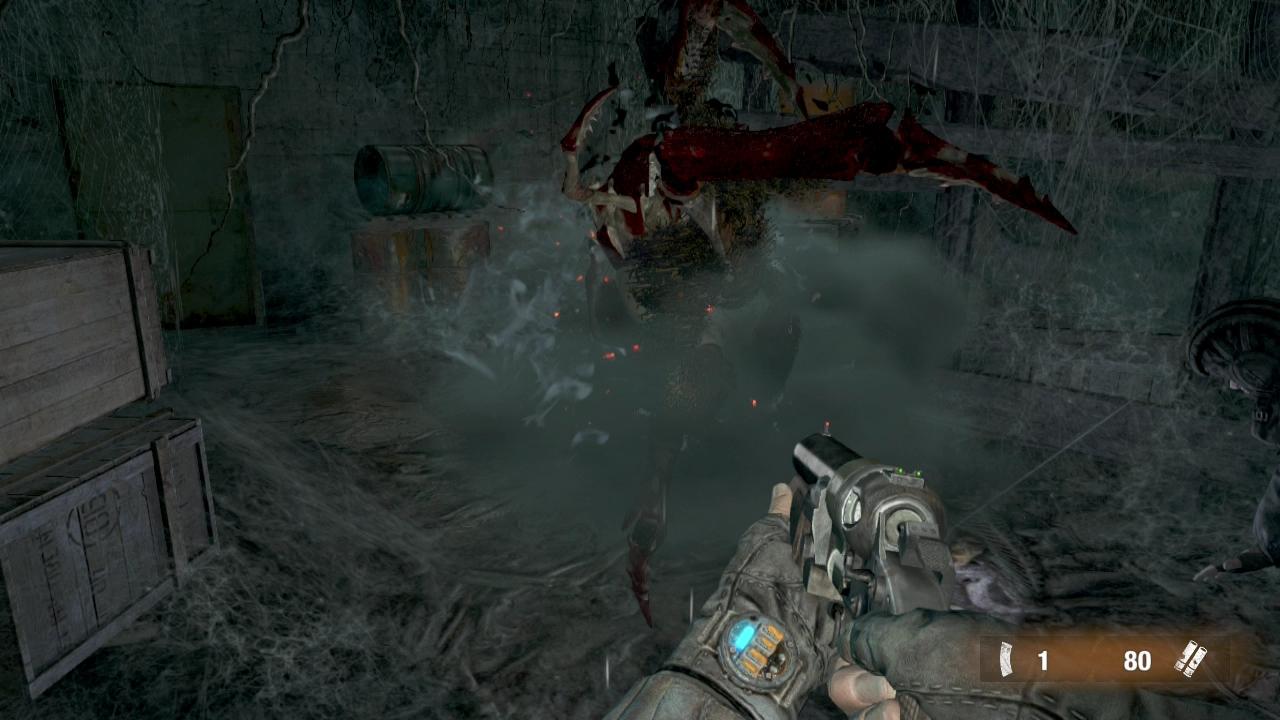 Arachnophobes best brace themselves: Metro: Last Light is full of creepy-crawlies.
