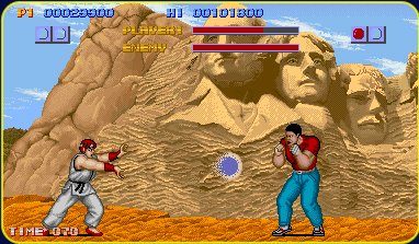 Ryu certainly hasn't changed much.