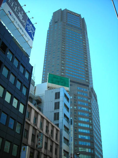 The posh Cerulean Tower Hotel.