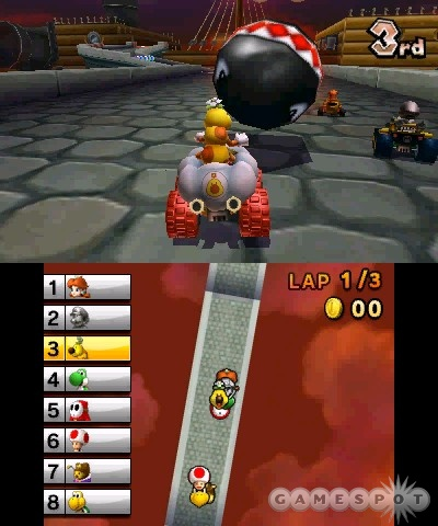 Mario's new racer still leaves the competition in the dust.