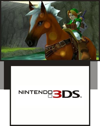 Ocarina of Time 3D rides to retail this week.