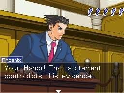 Phoenix Wright may soon have his day in court on the Wii.