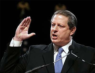 Al Gore is a backer of games as a