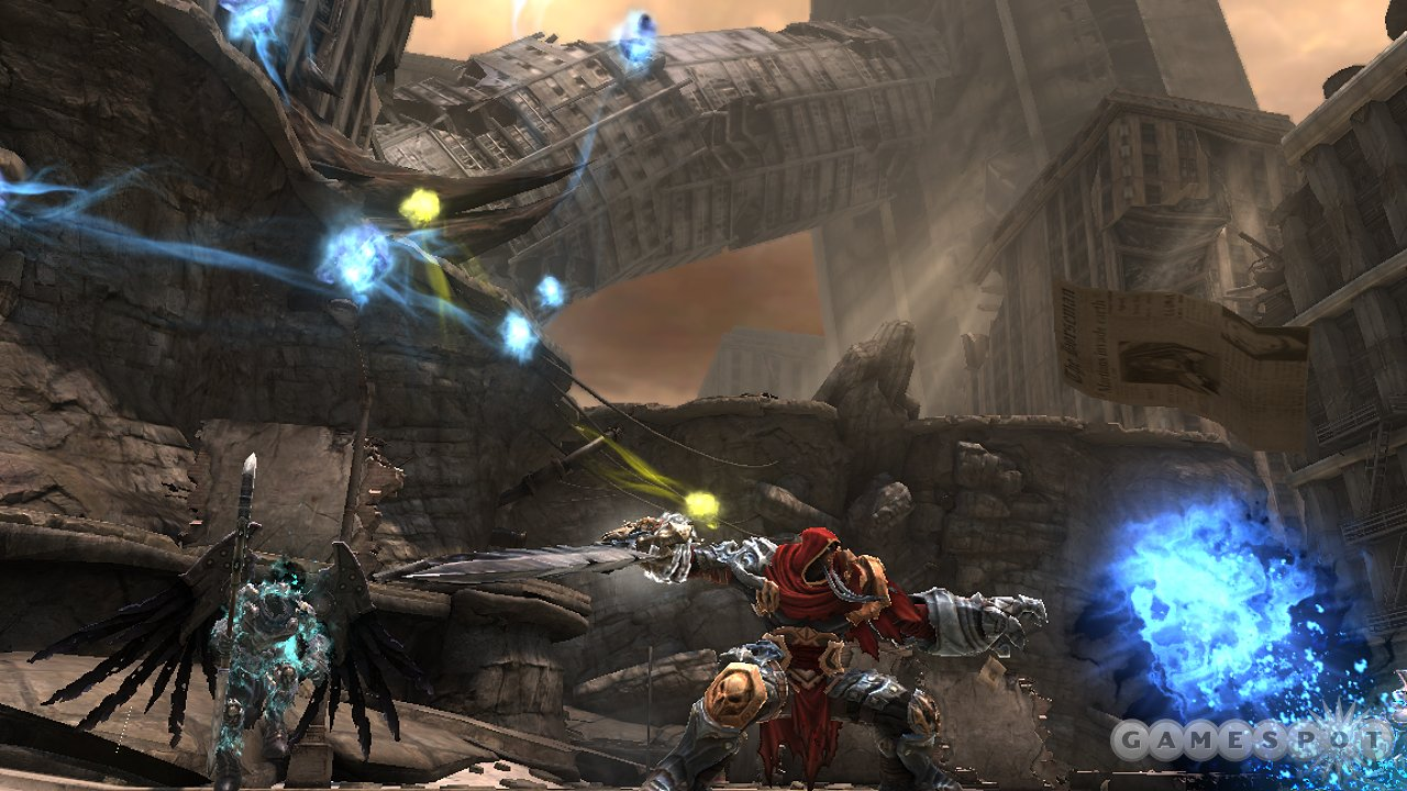 Darksiders' decayed beauty is a sight to behold.