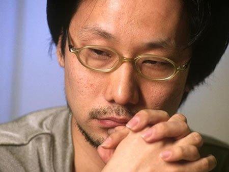 Kojima, no doubt pondering how to get illustrations into a radio drama.