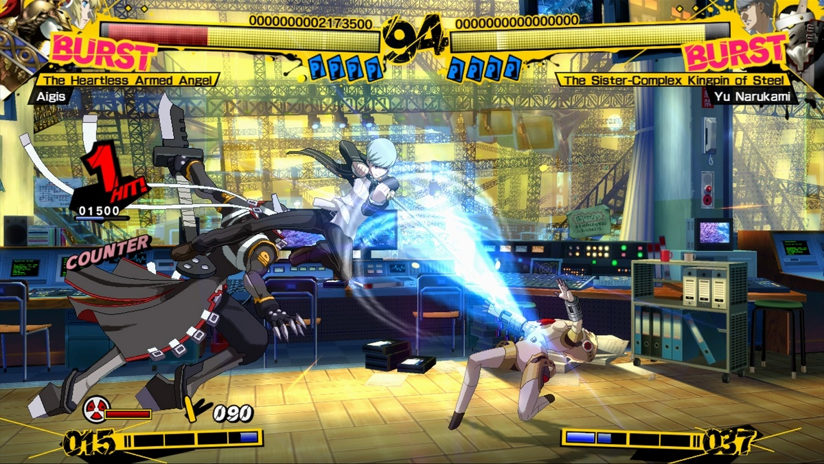 Utilizing your fighter and their Persona in harmony is key to victory.