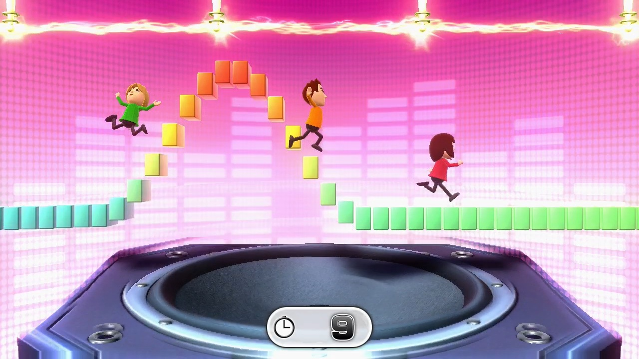 Screaming your opponents to death is a fun and unique experience Wii Party U offers.