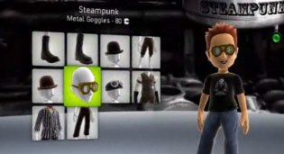 Microsoft already revealed some avatar apparel through a preview video, like the steampunk-themed set.