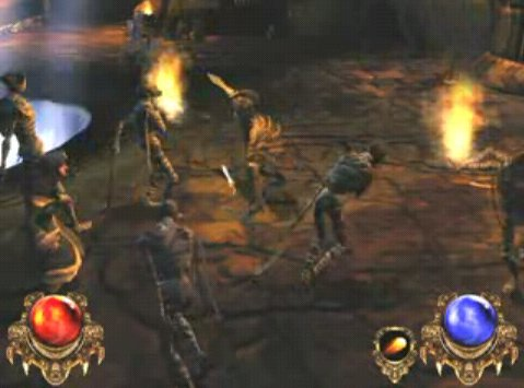 Castaway's Djinn was clearly along the same lines as the development team's previous franchise, Diablo.