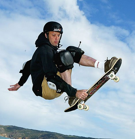 The usually disciplined Hawk jumped the gun on the Tony Hawk: Shred announcement.
