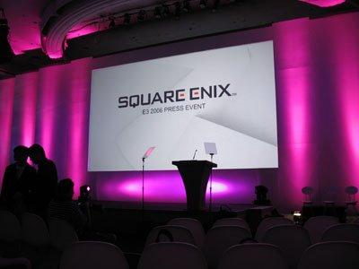 The Square Enix press conference.