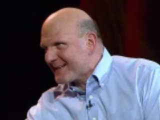 Steve Ballmer would like to talk to you.
