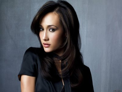 The delectable Maggie Q.