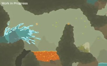 In PixelJunk Shooter, a wall of water can be considered a good thing.
