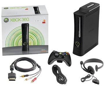 The Xbox 360 Elite package's new guts.