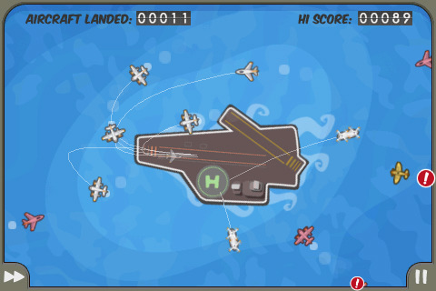 Flight Control was named the best Aussie-made game of 2009.