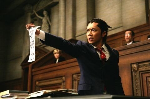 Any objections to this portrayal of Phoenix Wright?