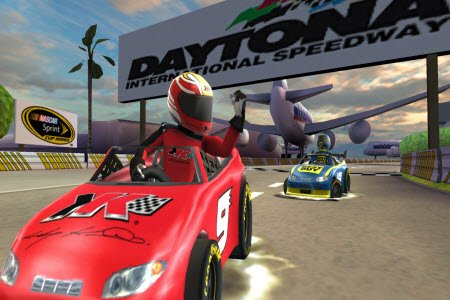 For the time being, NASCAR is squarely in EA Sports' rear-view mirror.
