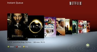 The Xbox 360 was the first console to have Netflix, but the least commonly used one among the video service's subscribers.