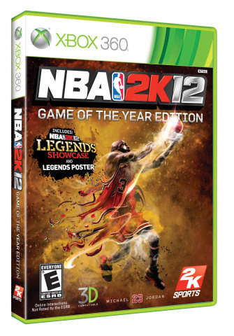 NBA 2K12 goes big, and maybe to your home, this March.