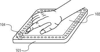 Putting the touch in touch screen.