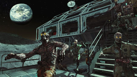 Zombies invade the moon in the next DLC.