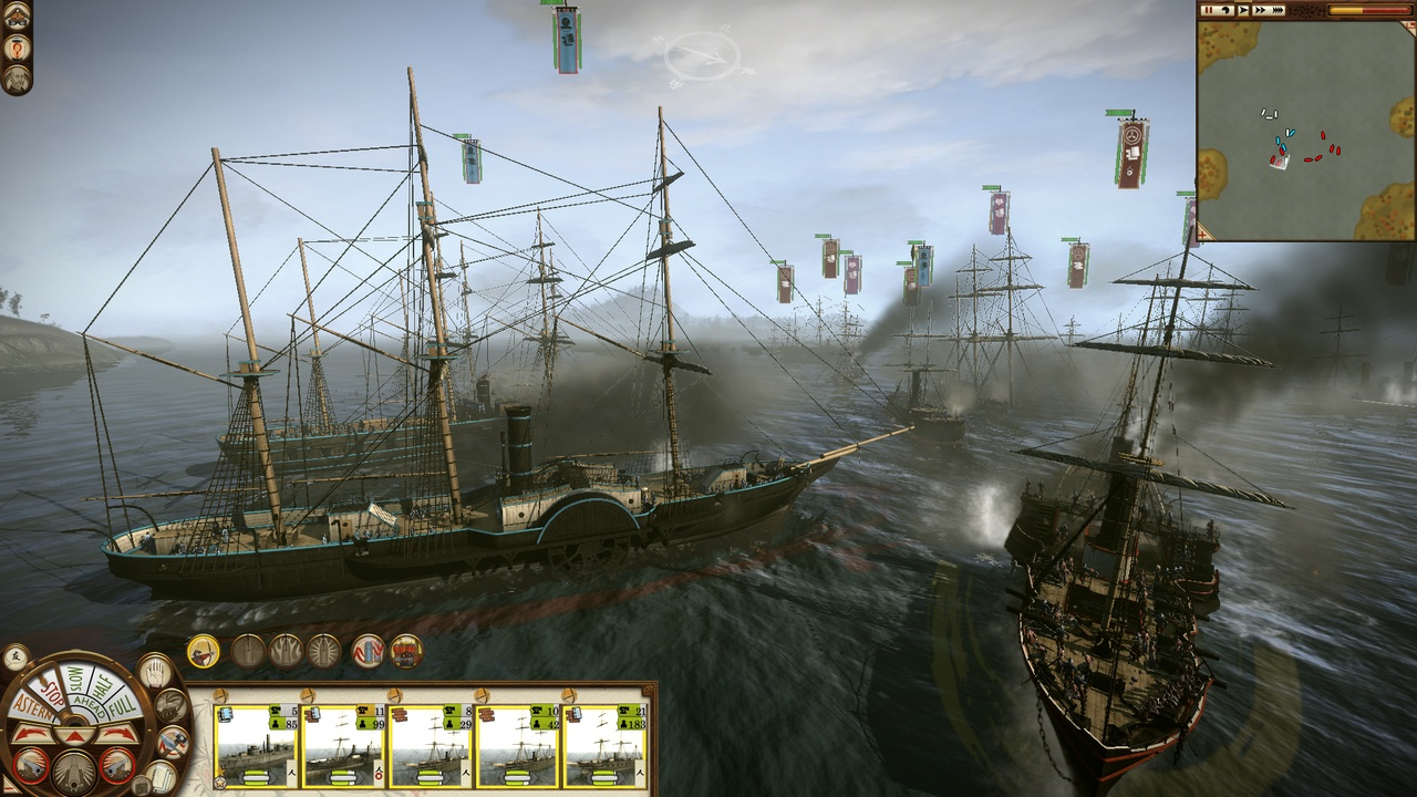 Powerful ships can be key to your success in Fall of the Samurai.